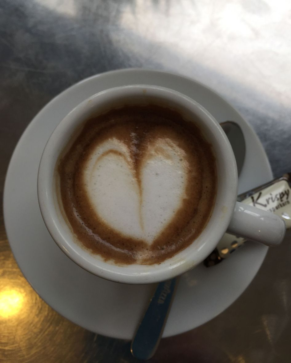 Kaffee geht immer...
